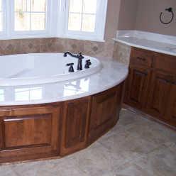 The woodshed custom cabinets inc custom kitchen for Bathroom remodeling fayetteville nc